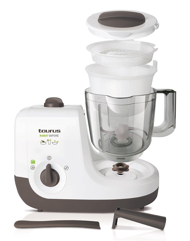 Taurus robot vapore robot de cocina para preparar los for Cocinar con robot