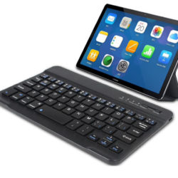 Mini teclado inalámbrico Bluetooth compatible con Windows, Android e IOS por sólo 8,37€.