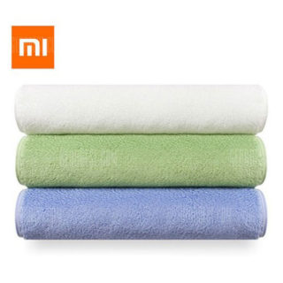 Toalla Xiaomi ZSH, fabricada en algodón con tecnología antibacteriana por 5,61€