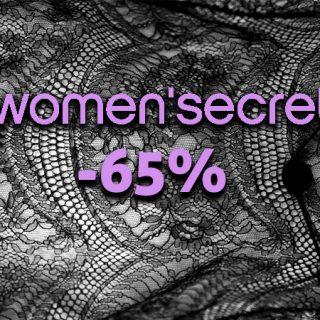 Descuentos de hasta el 65% en el catálogo de Women'secret en lencería, moda y complementos.