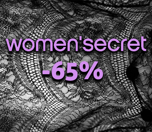42c6f589b Descuentos de hasta el 65% en el catálogo de Women secret en lencería