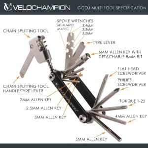 chollo multi herramientas Velochampion 4