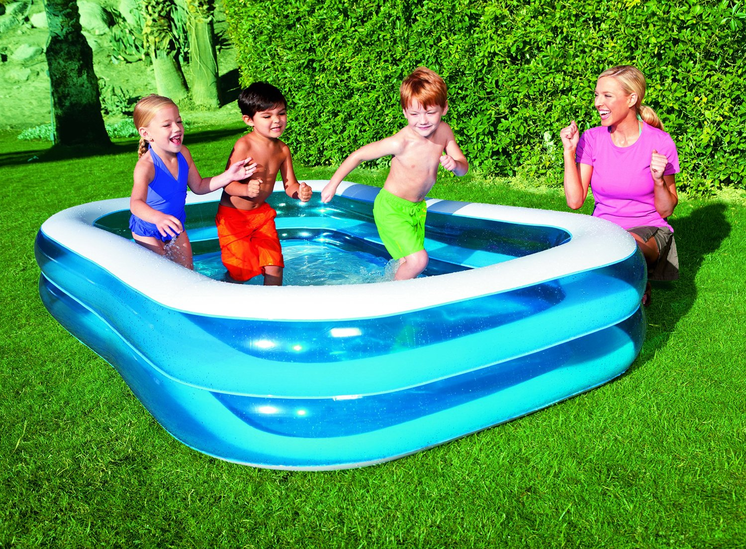 oferta piscina familiar bestway 29 95 chollos