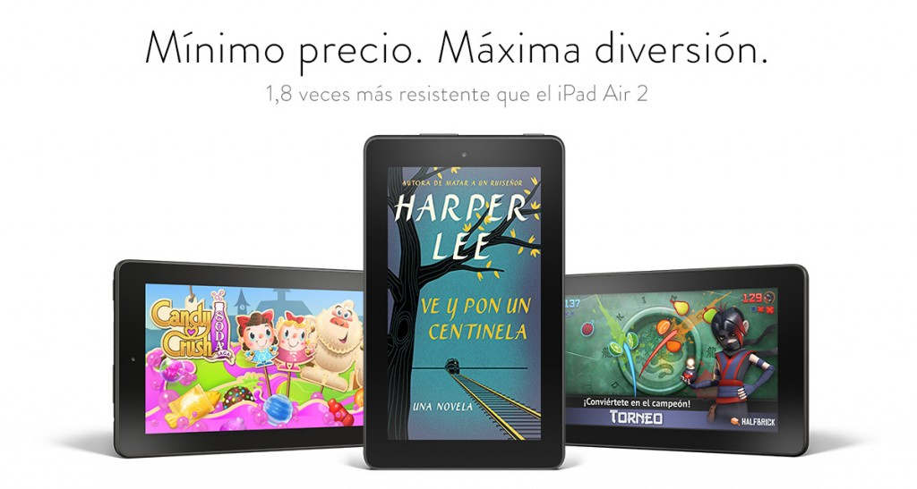 Kindle Fire barata