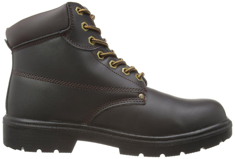 Dickies - Calzado de protección para hombre, color marrón, talla 45