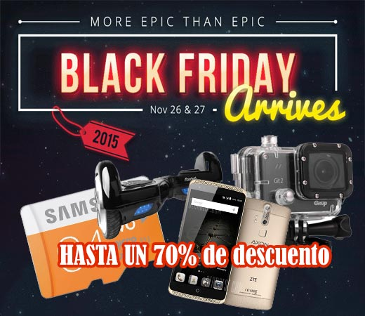 Black Friday en Gearbest