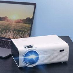 Proyector portátil multimedia 1080P HD por 53,99€ con código, antes 73,99€.