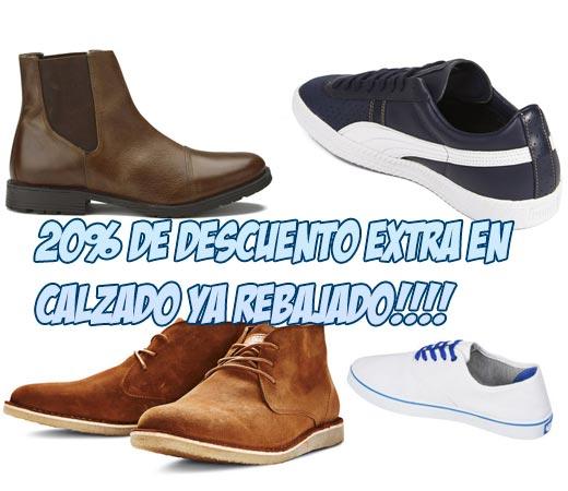 Zapatos y zapatillas rebajadas