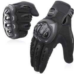 Guantes de moto Cofit, compatibles con pantallas táctiles por 9,59€.