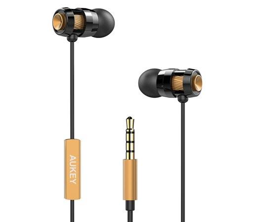 Auriculares in ear est reo con micr fono aukey por 2 99 for Poco wohnwand 99 euro