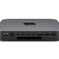 Apple Mac Mini Dual Core a 3 GHz de octava generación, 8Gb de RAM y 256 GB de SSD por 594,30 euros. Antes 968,95€.
