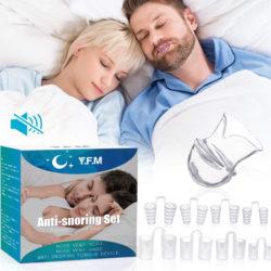 8 Dilatadores nasales reutilizables+retenedor de lengua para la apnea del sueño y un máximo rendimiento deportivo por 5,99€ con código.
