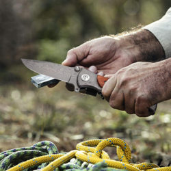 Cuchillo/navaja de acero inoxidable GVDV por 9,99€ antes 21,99€.
