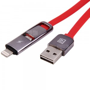 Cable lightning micro USB