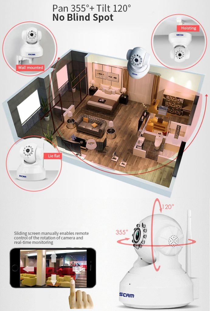 Camara de vigilancia barata
