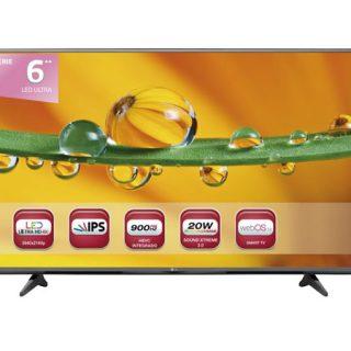 """Televisor LG 55UF6807 de 55"""", Ultra HD 4K por sólo 323 euros desde España."""