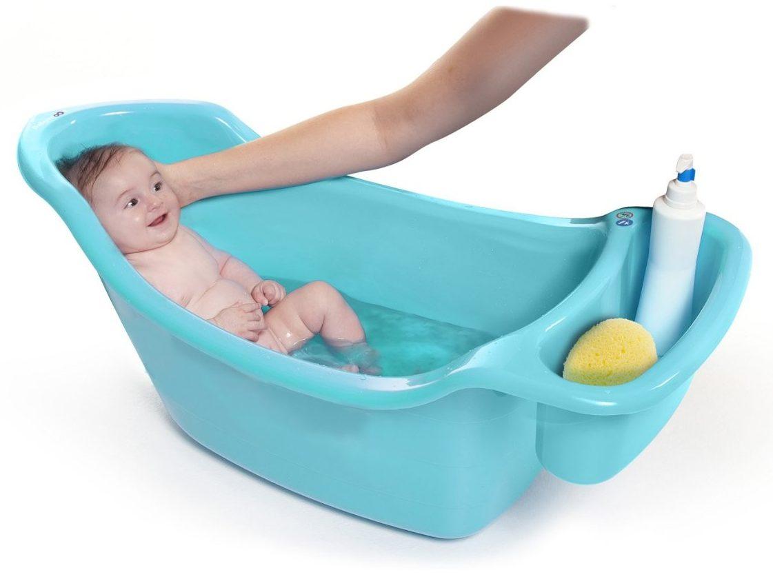 Ba era para beb con contenedor de accesorios babymoov for Banera bebe con patas