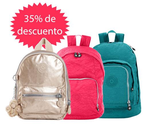 la nieve Arancel Vadear  35% de descuento en maletas, mochilas y bolsas de viaje Kipling! – Chollos,  descuentos y grandes ofertas – KeChollazo.com