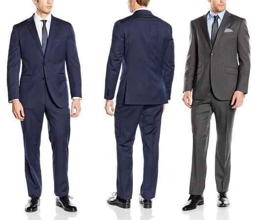 81a1bdbcf ... ofreciendo suculentas rebajas de un 30% en algunos de sus artículos  incluyendo su gama de trajes. El entallado es según descripción de tipo tailored  fit ...