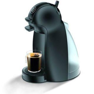 Cafetera de cápsulas Dolce Gusto Piccolo de Krups en color negro por 19 euros.