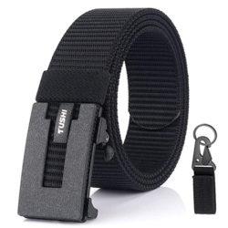Cinturón de nylon con hebilla metálica Genrics, varios colores, por 5,99€.