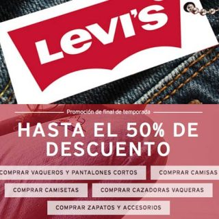 Hasta el 50% de descuento en pantalones, camisas y chaquetas para hombre y mujer Levi's en el Prime Day de Amazon.