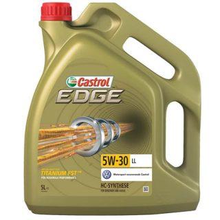 Aceite motor CASTROL Edge 5W30 Titanium C3 5L por sólo 35,92 euros y Castrol Power 1 Racing 10W40 4L por 17,56€.