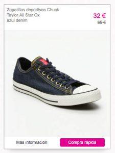 zapatillas converse chuck tayor