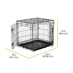 jaula para perro mediana