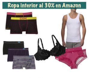 ropa interior barata