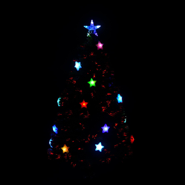 Rbol de navidad artificial con luces led 120cm por 33 98 - Luces led para arbol de navidad ...