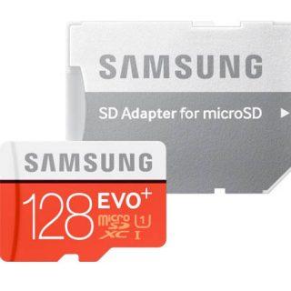 Tarjeta micro SD Samsung Evo 128 GB por sólo 10,18€