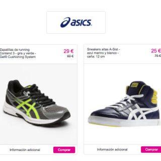 ¡Liquidación! Zapatillas deportivas Asics para mujer, hombre o niño al 60% de descuento con envío gratis, más de 400 modelos!
