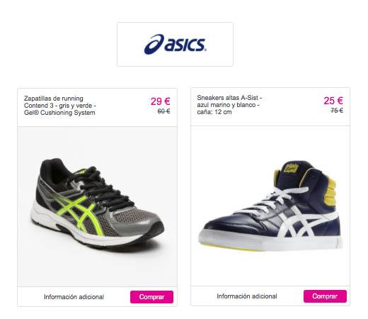 Zapatillas deportivas Asics para mujer 7f8c8aa67a238