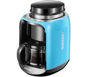 Oferta del d a cafetera con molinillo integrado aicook por s lo 39 99 chollos descuentos - Cafetera con molinillo incorporado ...