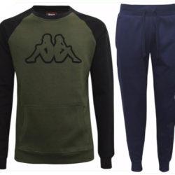 Sudaderas de varios tipos y pantalones Kappa por 9,99€.