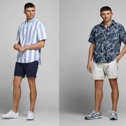 Pantalones cortos chinos Jack and Jones por sólo 10,45 euros