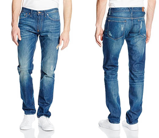 45d3867c57 Pantalones vaqueros rotos Cortefiel por sólo 16