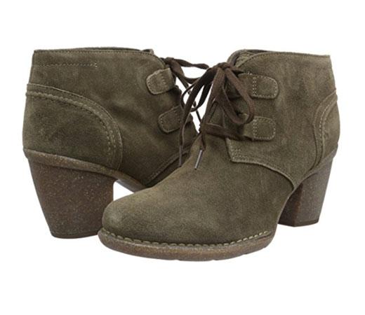 Clarks Zapatos Mujer Botines Carleta Lyon Negro