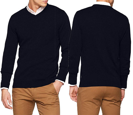 a73406b6a4 Los Jack   Jones Jjebasic Knit Crew V-Neck Noos son unos jerseys básicos de  cuello en ...