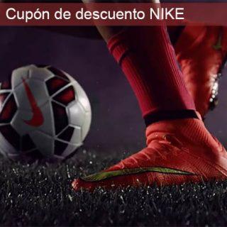 ¡Cupón de un 30% de descuento en TODA la tienda oficial Nike!