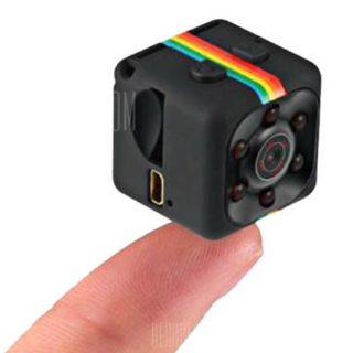 Microcámara iMars SQ11 1080P HD DVR con detección de movimiento y visión nocturna por sólo 3,70 euros.