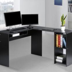 Mesa de trabajo/escritorio en forma de L por 49,19€ antes 81,99€.