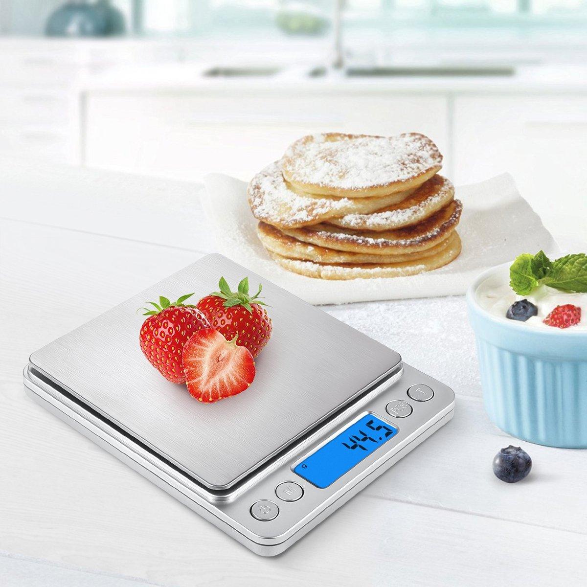 B scula digital de bolsillo alta precisi n para joyer a o for Bascula de precision cocina