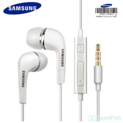 Auriculares Samsung  EHS64 con cable de 1.2 metros y micrófono por 1,69€.