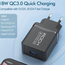 Cargador Quick Charge 3.0 18W certificado Qualcomm por sólo 1,75 euros.