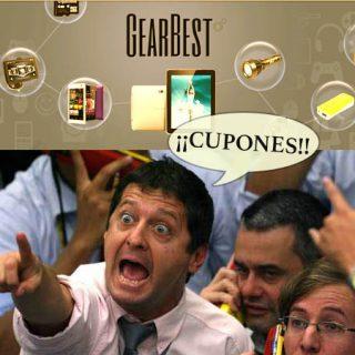 ¡Cupones en Gearbest! Listado completo de códigos descuento actualizados hoy.