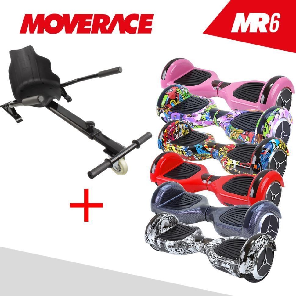 Hoverboard moverace mr6 por 119 95 antes 188 95 con for Sillas para hoverboard
