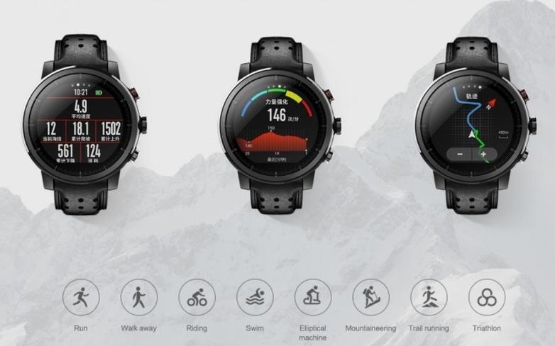 Smartwatch Deportivo Xiaomi Amazfit Pace 2 Stratos Con Gps