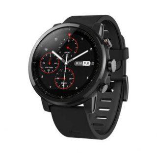 Smartwatch deportivo Xiaomi Amazfit Pace 2 Stratos con GPS, pulsómetro y reproductor de música por 77 euros desde España.